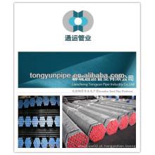 Liaocheng tongyun marca tubos de aço sem costura