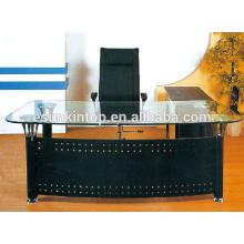 Malerische Büro-Glas-Schreibtisch, Büromöbel für hohe Qualität zu gehen! (P8061)