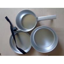 Conjunto de fogão de alumínio ao ar livre