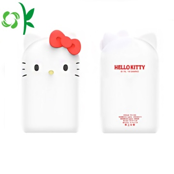 Gullig Hello-Kitty Portable Powerbank Väska För smart telefon