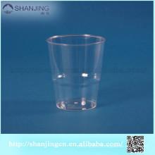 O logotipo feito sob encomenda do FDA SGS 6oz imprimiu o copo descartável plástico da cerveja do copo de chá