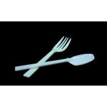 Disposable Medium weight Plastic tableware for knife fork spoon