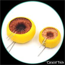 Inductor magnético variable 100mh de la obstrucción de la base de ferrita de la bobina para el tablero de PCB