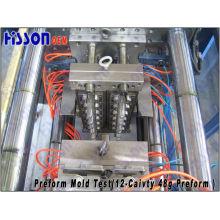 12-Cavidade 48g 28pco Self-Lock Pet Preform Injection Mold