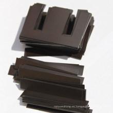 Baja pérdida de hierro EI Chapa de acero negra