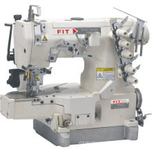 High Speed Cylinder Bed Interlock Sewing Machine with Puller