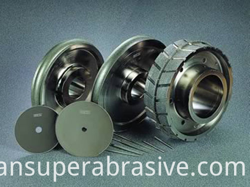 Electroplated diamond nickel bonded wheel