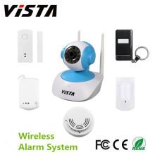 Wifi Home Burglar Fire Alarm System w/ PIR Door Sensor