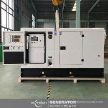 conjunto de gerador diesel silencioso de 75 kva fechado alimentado por CUMMINS motor 4BTA3.9-G11