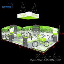 China factory direct sale pop up tradeshow display fabric display stand