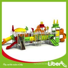 Double Fun Two Sides Outdoor Spielplatz Slides Ausrüstung LE.TY.012