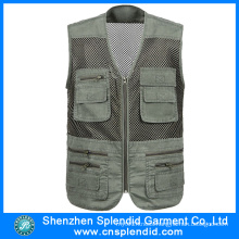 Garment Factory Multi Pocket Journalist Vest Made in China