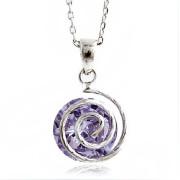 2014 Big Diamond Pendant Necklace (FQ-1206)