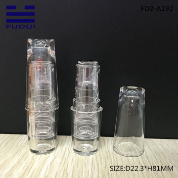 Wholesale Transparent OEM Empty Lipstick Case