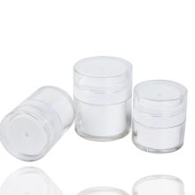 skin care jars press acrylic cream pump jar