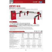 Gantry tipo CNC cortador de plasma para el metal