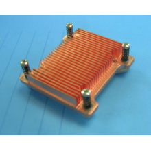 Copper extrusion heat sink copper profile