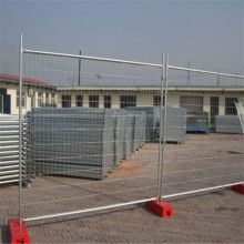 Powder coated/PVC coated fence temporary fence