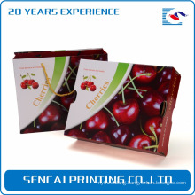 SenCai cherry corrugated paper packaging gift box