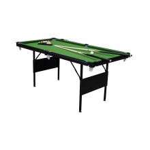 6′ Folding Metal Leg Pool Table (P603)