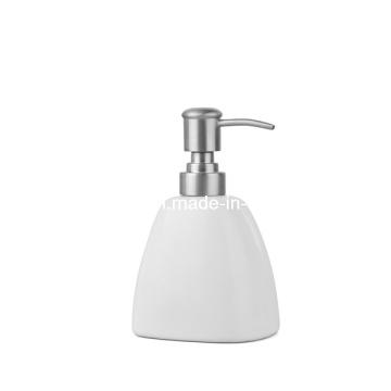 Dispensador de jabón de porcelana blanca (WBC0650A)