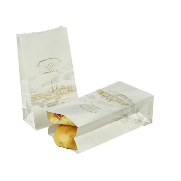 Жиронепроницаемые бумажные пакеты для хот-догов