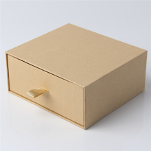 Boîte d'emballage de cadeau de tiroir de papier avec le logo adapté aux besoins du client