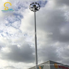 Alibaba Trade Assurance Supplier waterproof 30m high mast lighting pole