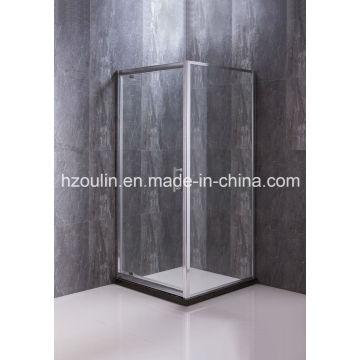 New Shower Enclosure with Pivot Door