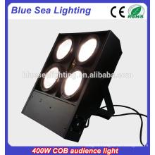 warm white 4x100W COB led stage blinder light