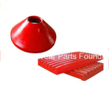 Wear Parts Mantle/Concave/Bowl Liner/Jaw Plate for Metso Crusher