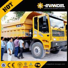 O equipamento de mineração 50 toneladas avaliou o camião basculante MT76 da mineração da carga LGMG