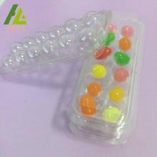 Fächer-Plastiksüßigkeits-Blister-PET-Behälter
