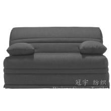 Linentte 100% de polyester de tissu de décoration pour le textile à la maison