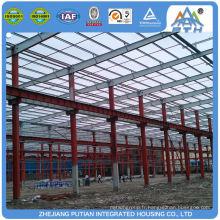Plans de construction d'entrepôt de toit en sandwich commercial commercial le plus vendu