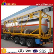 Envase caliente del tanque del LPG de la venta los 20ft o los 40ft