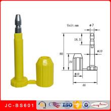 Jc-BS601 Sello de perno de bala mecánico de seguridad de contenedores