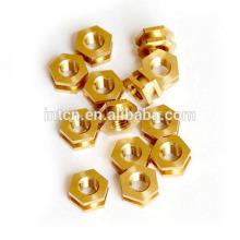 Customize high precision cnc lathe brass parts