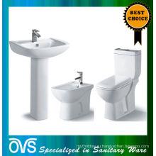 ОВС сделано в Китае лучшее качество ванная комната керамический туалет наборы A1001B