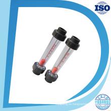 Tipo de tubo de acrílico Lzs Ss316L Rodómetro de guía Medidor de flujo Rotameter