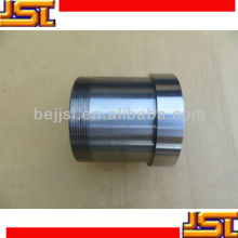 Sand cast iron machinery Part CNC machining pipe joint