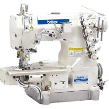 Máquina de coser de bloqueo de cilindro-cama br-600-01CB alta velocidad