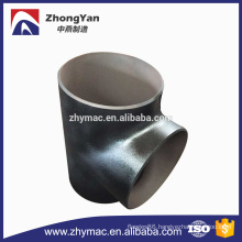 Sch 40 astm a234 wpb pipe branch tee fitting
