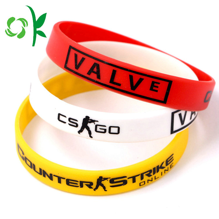 Pure White Silicone Wristbands
