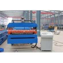 Machine de formage de rouleaux de toit à bas prix de Chine fournisseur de pointe