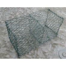 Galvanized & PVC coated Gabion mesh