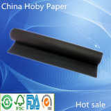 double side black kraft paper roll for bag and box