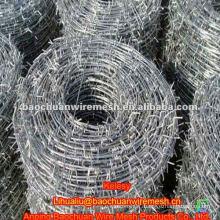 Anti corrosion barbed wire spool