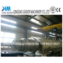 Large Caliber HDPE Solid Type Water Supply Pipe Extruder Machine