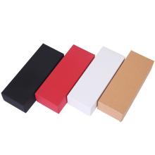 Paper Boxes Custom Logo Cosmetic Packaging Foldable Cardboard Lid and Base Kraft Paper Box